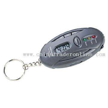 Alcohol Breath Tester and Timer with Flashlight