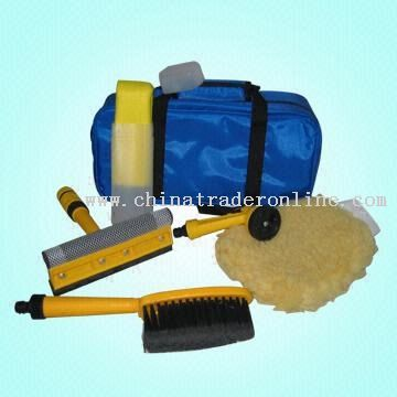 Car Care Kit with A Nylon Bag