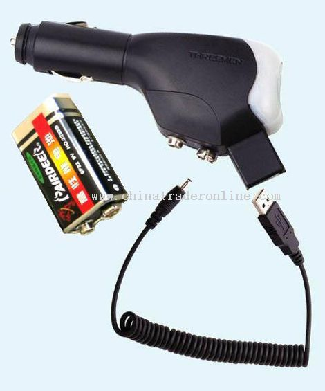 Car/Emergency/USB 3 in 1 Mobile Phone Charger