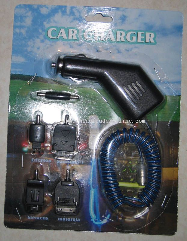 EL wire car charger for mobile phone