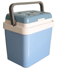 24litres Solid polyurethane foam with CFC-free cooler and warmer