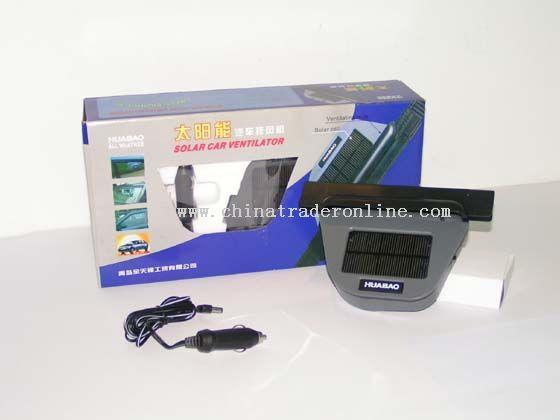 Solar Car Ventilator