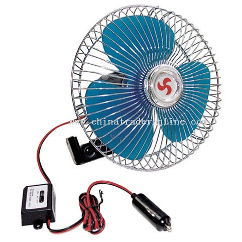 6 INCH FAN WITH METAL GUARD AND SWITCH