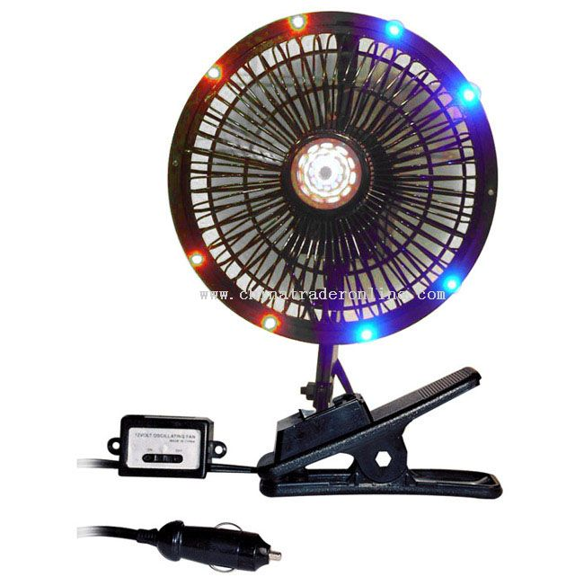 CAR FAN WITH LED from China