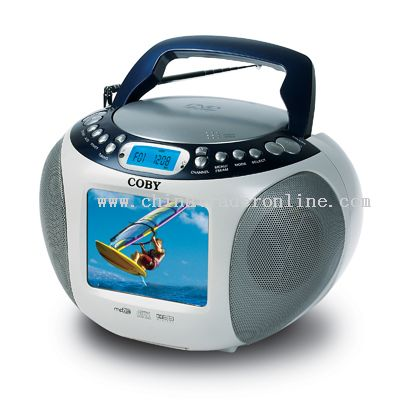 5 TFT PORTABLE DVD/CD/MP3 PLAYER WITH TV TUNER and DIGITAL AM/FM TUNER