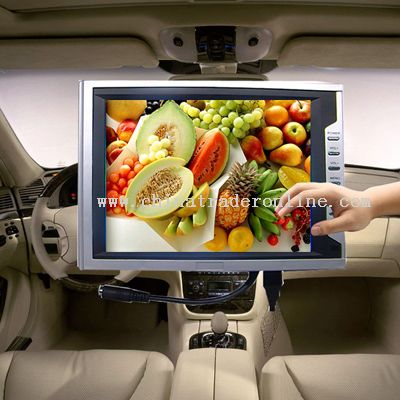 8.4 Inches desktop in-car TFT-LCD monitor with touch panel with VGA