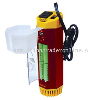 150W inverter with charger & USB