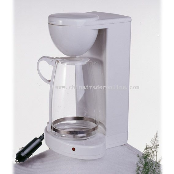 12-VOLT AUTO COFFEE-MAKER WITH GLASS POT