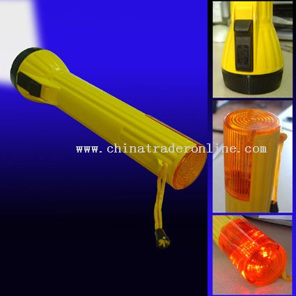 Safer flashlight from China
