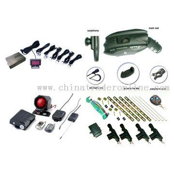 Mobile Hands-Free Kit, Central Lock, Alarm System