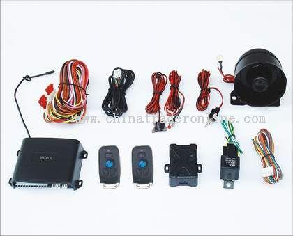 Car alarm system