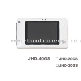 Portable hdd video REC player