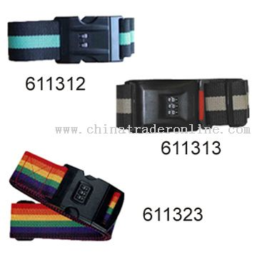 Locking Buckle Luggage Strap