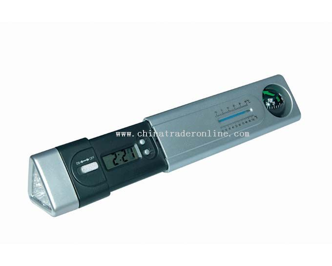 Multifunction LED Torch with Perpetual Calendar