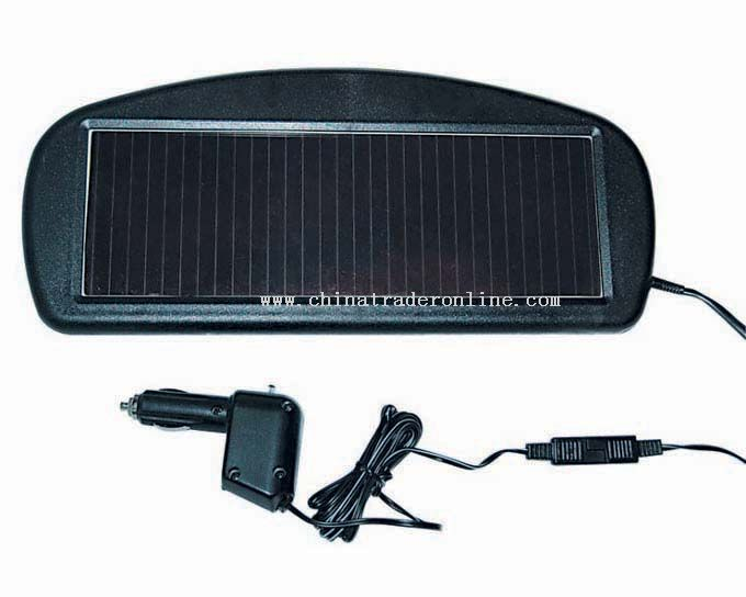 Solar Battery Charger for Auto