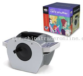 Hand Crank Card Shuffler from China