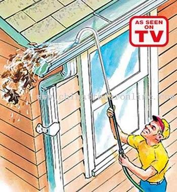 Eave cleaner
