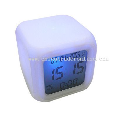 Color Changing Clock from China