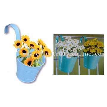 2pc Hanging Flowerpot Set