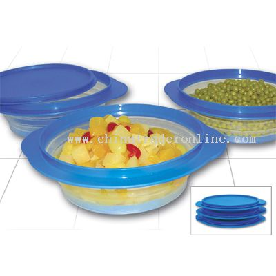 collapsible food containers