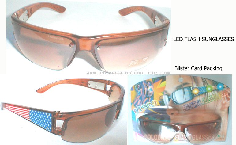 Led Flash Sunglasses