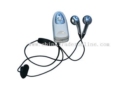 Earphones  Small Ears on Blue Tooth Earphones