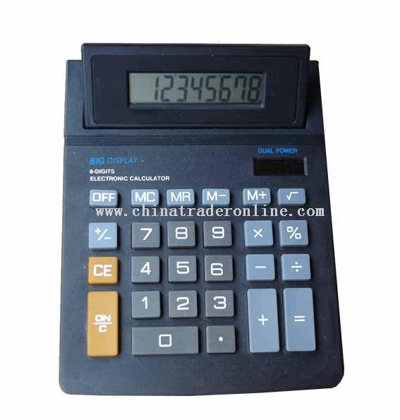 8 Digits Jumbo desk calculator