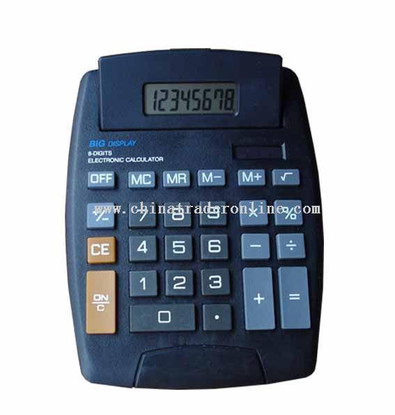 8 digits desktop calculator