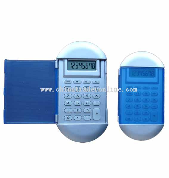 handheld calculator with cover