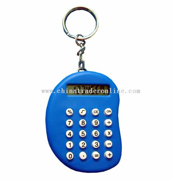 Moon Shape KeyChain Calculator