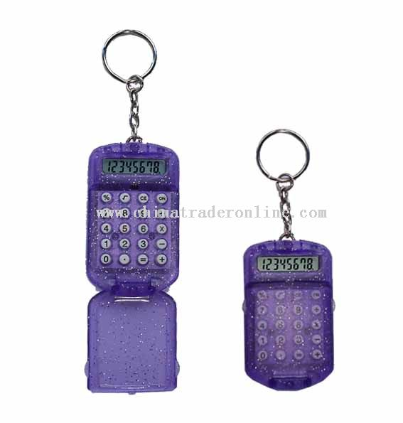 Slim Keychain calculator
