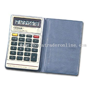 Pocket Calculators with Cover