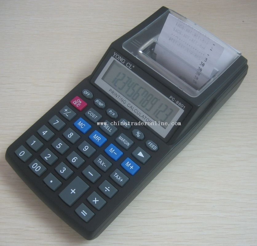 Printing Calculator from China