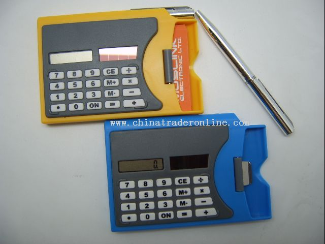calculator Card Holder