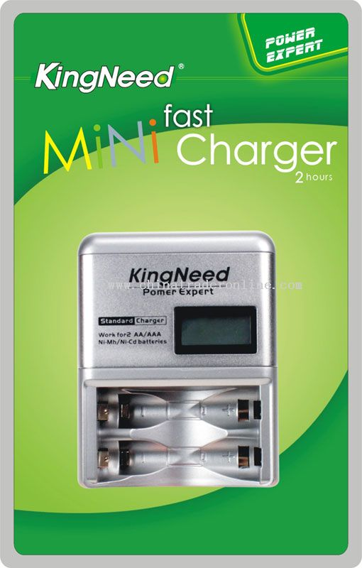 2Hours fast MiNi LCD Fast Charger from China