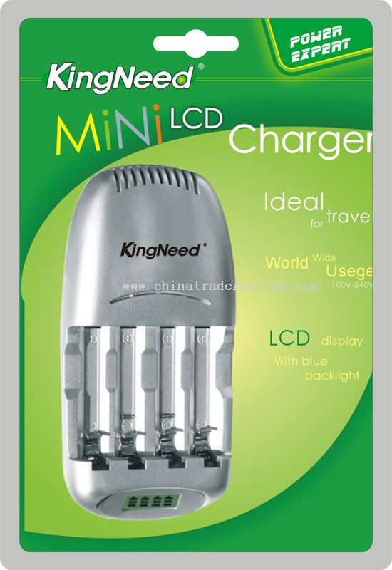 LCD Display Fast Charger from China