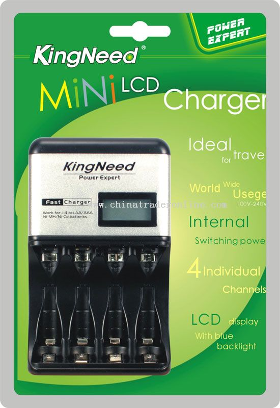 MiNi LCD Fast Charger