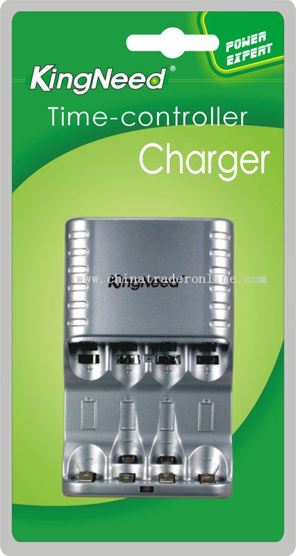 Four independent charging channels Timer Charger