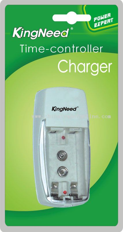 Two independent charging channels Time controller Charger