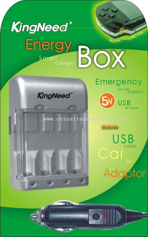 Emergency power supply USB charger
