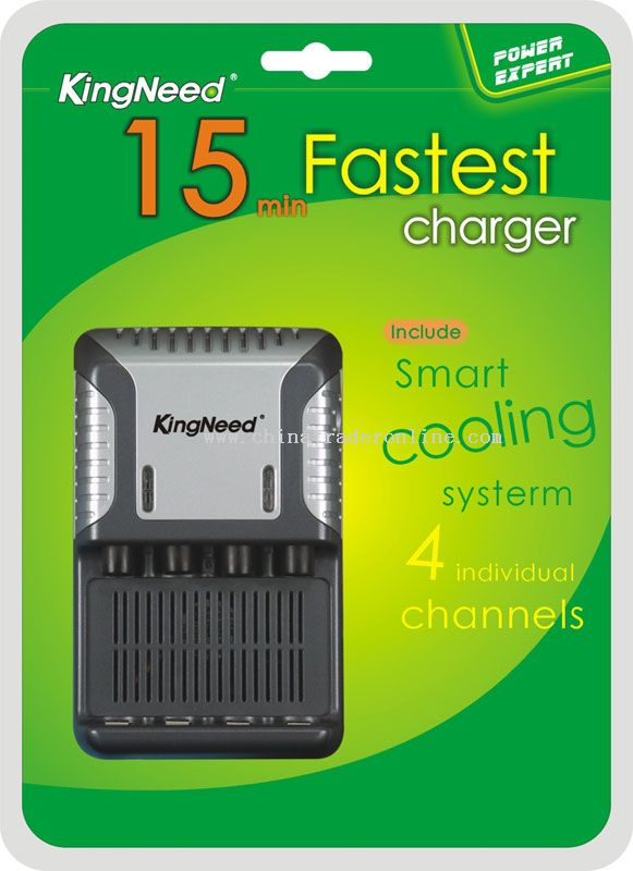 15 MIN Ultra battery charger