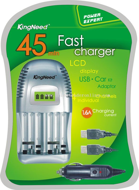 90 MIN Ultra battery charger