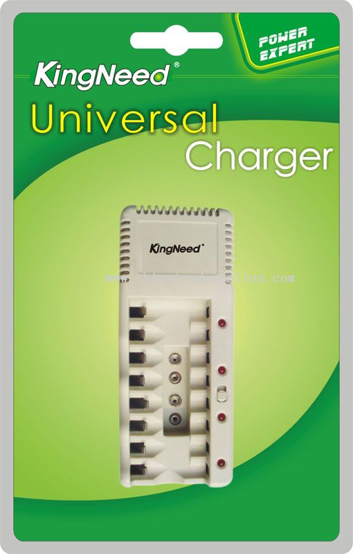 Four charging channels with 2-2 series connection universal Charger