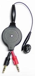 Media earphone for PC, Notebook