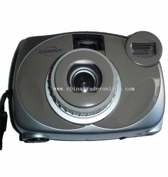 35mm Manual camera with flash
