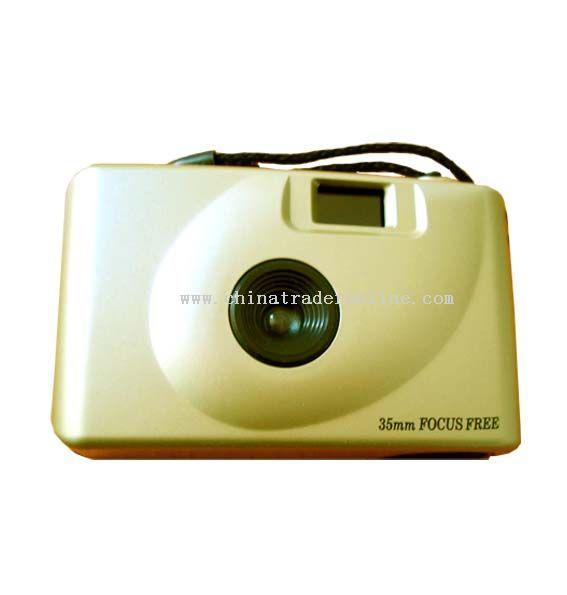 35mm focus free camera