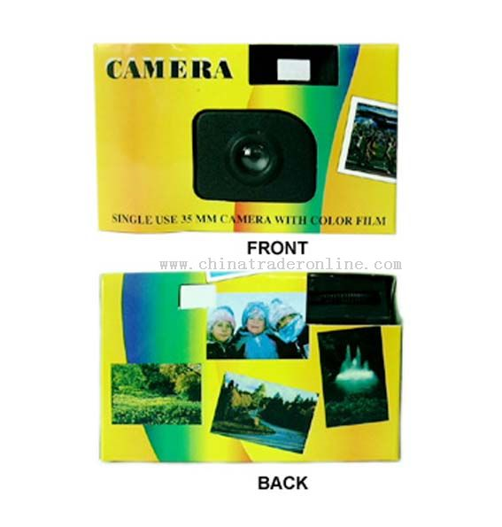 Disposable Camera without Flash