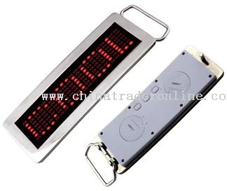 LED Belt Buckle (Scrolling Display)