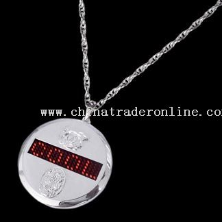 LED Necklace (Scrolling Display)