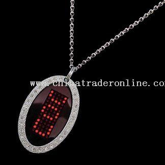 LED Necklace Pendant